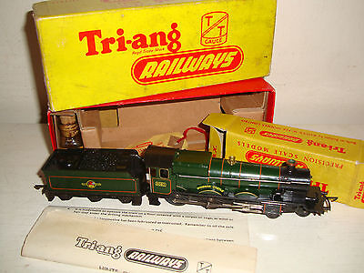 Tri-ang TT- T.91/T.92 BR(WR) Windsor Castle (4082) & tender excellent/boxd c1958