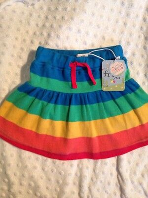 Frugi Baby Girl Skirt With Attatched Shorts  Age 0-3 Months New With Tags