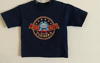 New Day Out With Thomas The Tank Engine T Shirt Size 4