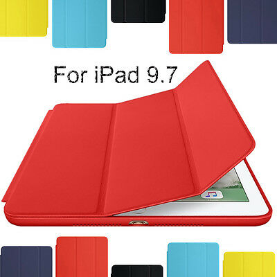For iPad Mini 5 Air 10.5 2019 / 6th 9.7 2018 Ultra thin Leather Smart Cover Case