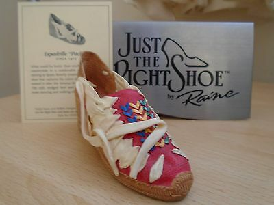 """Just The Right Shoe Espadrille """"pacha"""" # 25328"""