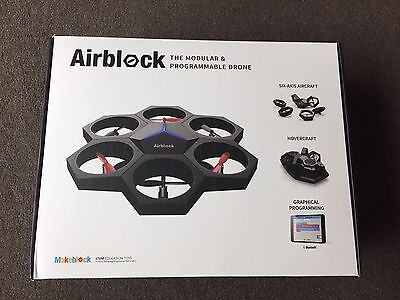Makeblock Airblock Programmable Drone Hovercraft Quadcopter Education Kids Toy
