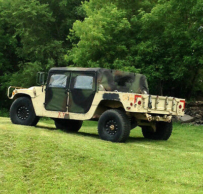 Titled Soft Top Humvee/Hummer/SUV/Truck W/ OPTION to Add on Trailer