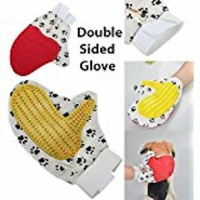 Pet Grooming & Massage Hair Removal Glove.