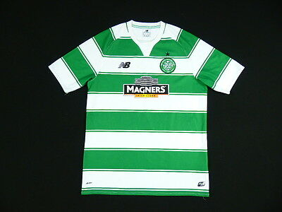 SHIRT NEW BALANCE CELTIC GLASGOW 2015-16 HOME JERSEY MAGLIA CAMISETA MAILLOT s.L