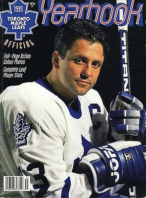 1995 Toronto Maple Leafs Yearbook