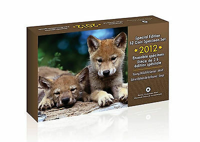 Canada 2012 Wolf Cubs - Special Edition Specimen Set Limited Mintage