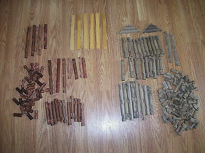 2 Sets of Vintage Lincoln Logs over 3 Lbs