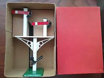 Hornby O Gauge No2 Home Junction Signal superb boxed condition