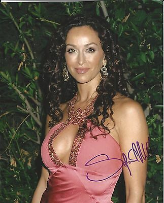 SOFIA MILOS Hand Signed 8x10 Autographed Photo With COA - CSI: MIAMI