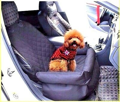 Pet Car Booster Seat Cover Carrier Travel Safety Dog Cat Waterproof Non Slip