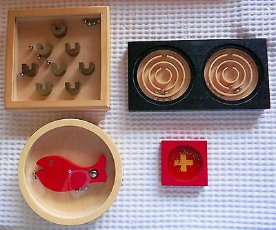Vintage Swiss Naef and Gewa Puzzles