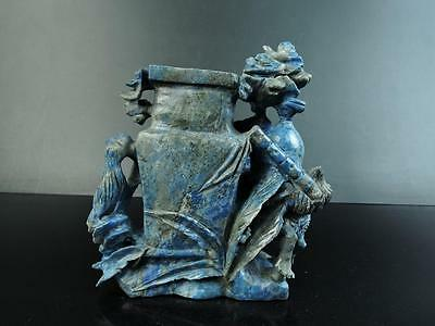 "Lapislazuli Vase ""huaping"" - China Antik"