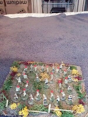 toy soldier's British+Indian colonial  infantry scale 1 72