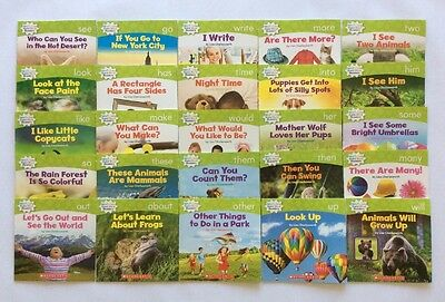 Nonfiction Sight Word Readers Level C Lot 25 Bonus Full Size Teaching Guide