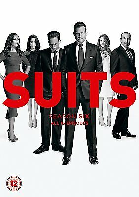 Suits Season 6 New & Sealed Region 2 DVD Boxset