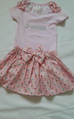 Romany Crystal Bling baby girls set size 3-6 months
