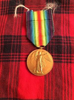 WW1 British Victory Medal Liverpool Regiment