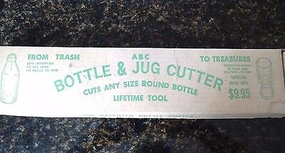 ABC Bottle and Jug Cutter