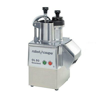 Robot Coupe Commercial Food Processor Metal Base w/ Removable Catch Pan - CL50 G