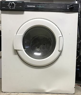 Simpson Maxidry 361 3.5kg tumble clothes dryer working well - Western Sydney