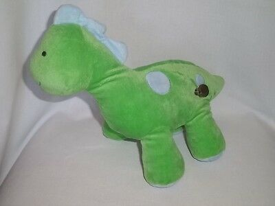 CARTERS Plush Musical DINOSAUR Wind Up GREEN ANIMATED Child Of Mine Baby Toy