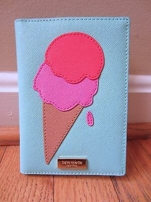 Kate Spade Passport Holder Imogene Ice Pop Bifold Case Wallet Flavor of Month