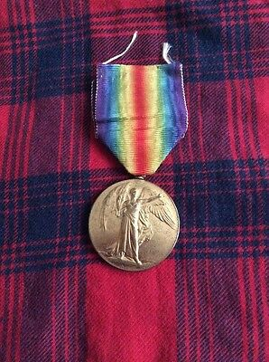 WW1 BRITISH VICTORY MEDAL,9th LONDON REGIMENT /MGC