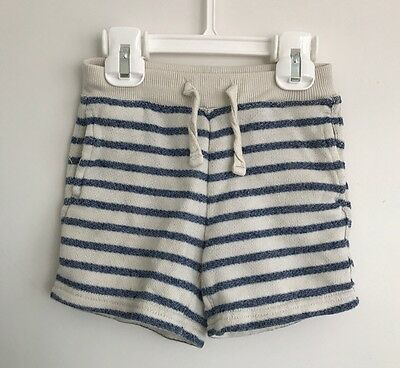 Euc Baby Gap Boys Striped Knit Shorts Size 18-24 M