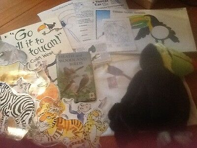 Go tell it to the toucan story sack and teaching resource