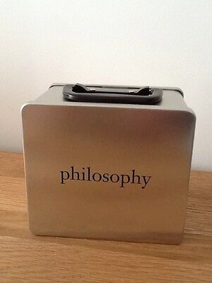 * PHILOSOPHY Tin / Box / Storage - New / Never Used **