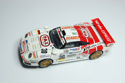 Scalextric. Slot Car 1/32. Porsche 911 GT1 #30. 24 Hrs. Le Mans 1997