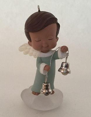 2002 Mary's Angels #15 Willow Hallmark Ornament Bell Ringer