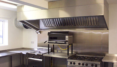Commercial Kitchen Extraction Stainless Steel Canopy 1.8mm /hood BARGAIN PRICE