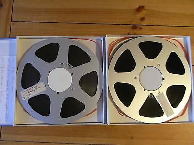 "2  x   10.5  Unbranded  Reel to Reel Spools for 1/4"" tape"