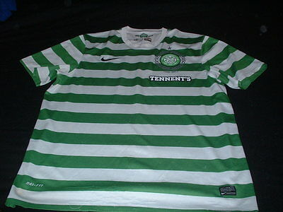 Celtic Scotland Football XL Extra Large Mans 1888-2013 Nike Made Home Jersey
