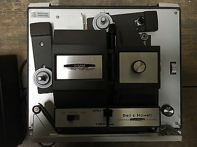 NEW 8 mm Super 8 Bell & Howell Projector