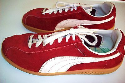 RAR! 80s true vintage PUMA sneaker trainer Turnschuhe Wildleder Gr. 37 UK 4,5