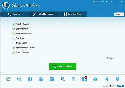 Glary Utilities Pro 5 2017 Lifetime Licence -100% Original (PC clean,fast,safe)