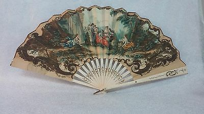 Kansas City Hotel Muehlebach souvenir hand fan Paris