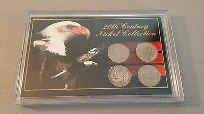 20th Century Nickel Collection, Liberty Head, Buffalo, Silver Wartime nickels