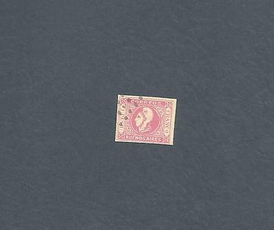 One Peso Rose Buenos Aires #12 - Excellent Four Full Margins