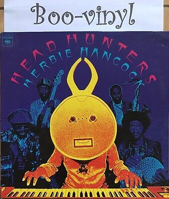 Herbie Hancock: Head Hunters Vinyl Lp 1st Press A1-B1 Ex+ Con
