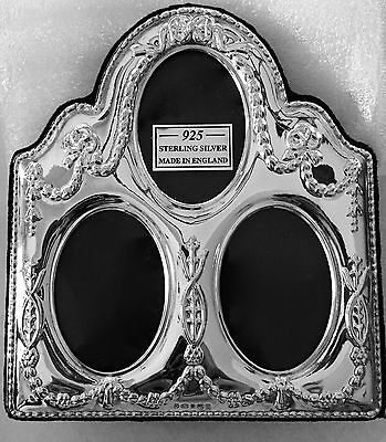 Sterling Silver  English Picture Frame
