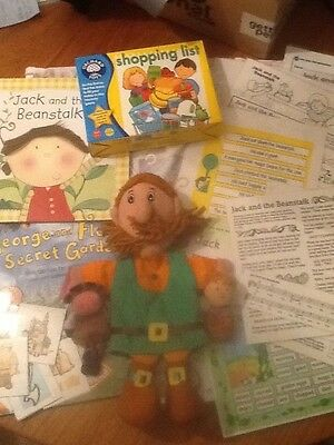 Jack and beanstalk story sack and teaching resource