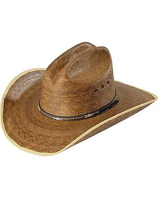 NEW Resistol Jason Aldean Passing Through Palm Leaf Cowboy Hat Natural SIZE 7