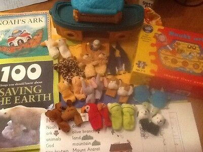 Noah's Ark story sack and teaching resource