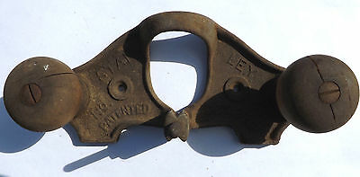 Antique Stanley No.71 Router Planer Base Patented October 29, 1901