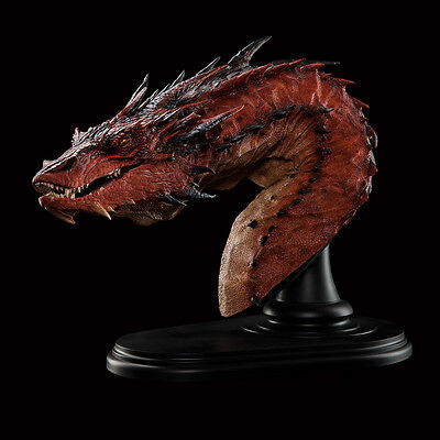 Smaug the Terrible BUST Dragon Lord of the Rings WETA The Desolation Hobbit