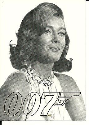 James Bond 007 Gold Gallery - GG9    Lois Maxwell as Miss Moneypenny